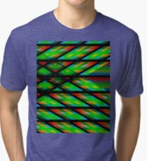 Abstract geometric art Tri-blend T-Shirt