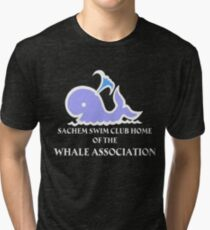 Whale Association T Shirt Tri-blend T-Shirt