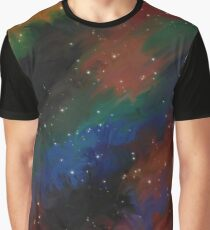 Cosmic Swirl Graphic T-Shirt