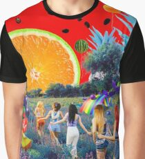 The Red Summer Graphic T-Shirt