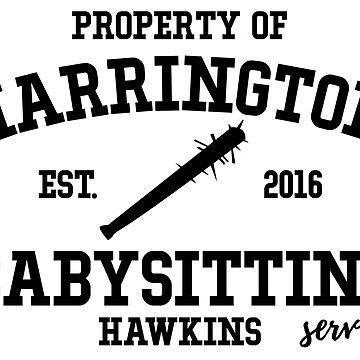 Steve Harrington Babysitting  by KisArt