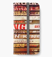 S.Kings Books iPhone Wallet/Case/Skin