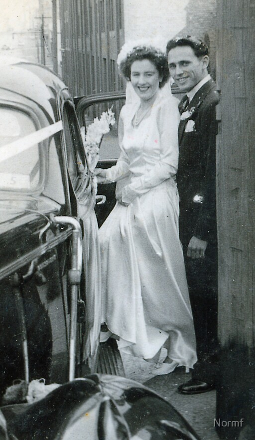 Norm and Glad Married 1948 by Normf