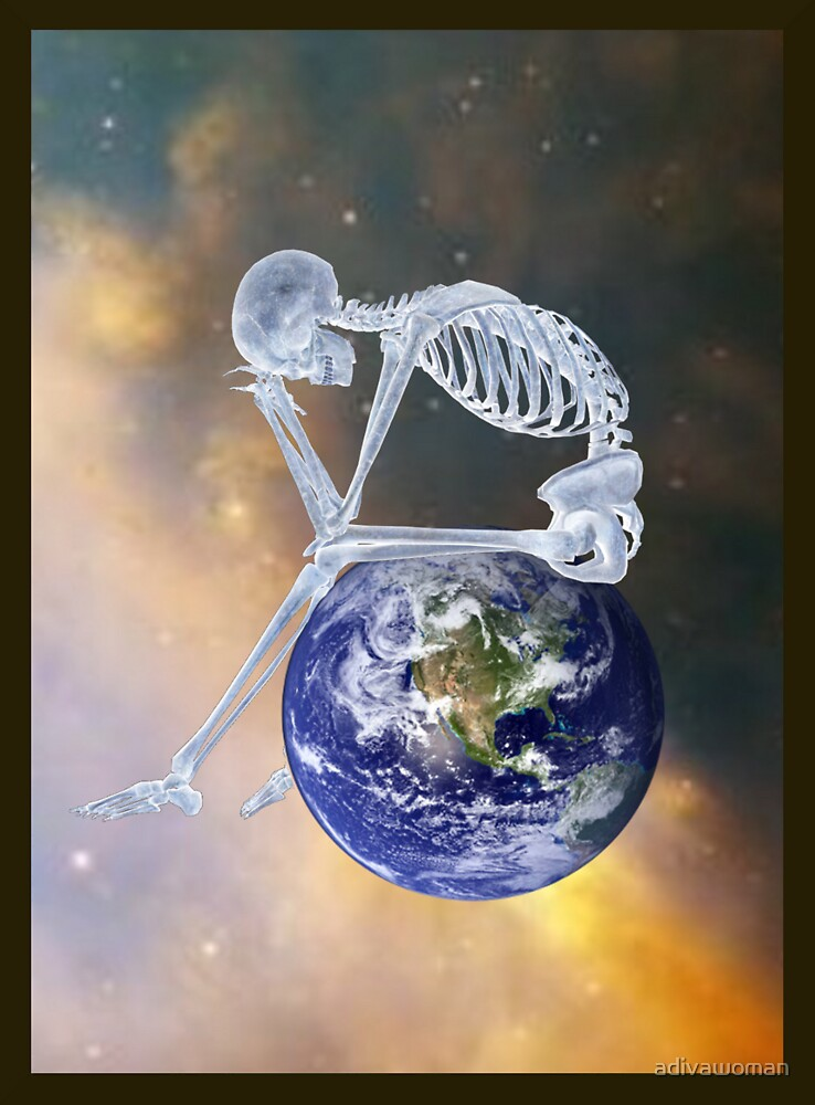 GLOBAL WARMING DIGITAL ART by adivawoman
