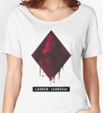 "Fifth Harmony - ""DOWN"" Lauren Jauregui Women's Relaxed Fit T-Shirt"