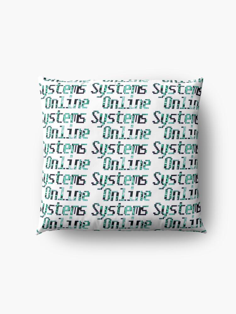 Alternate view of Systems Online Logo Floor Pillow