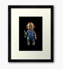 Chucky Art Framed Print