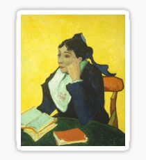 Vincent van Gogh - Portrait of Madame Ginoux. Sticker