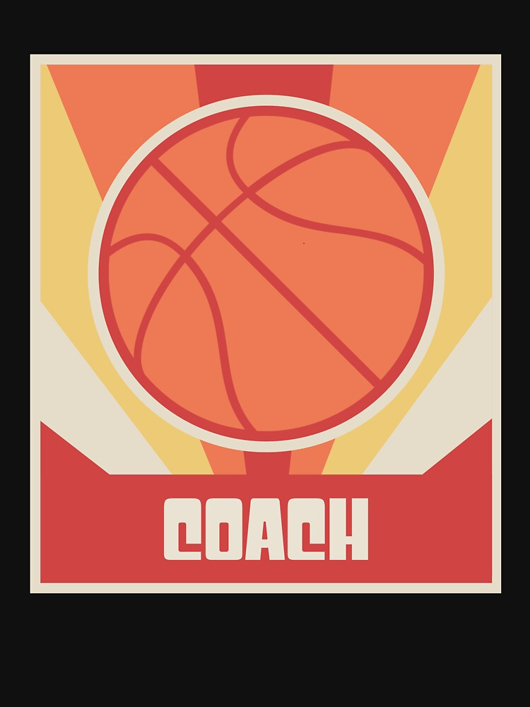 Vintage Basketball Coach Poster by ethandirks