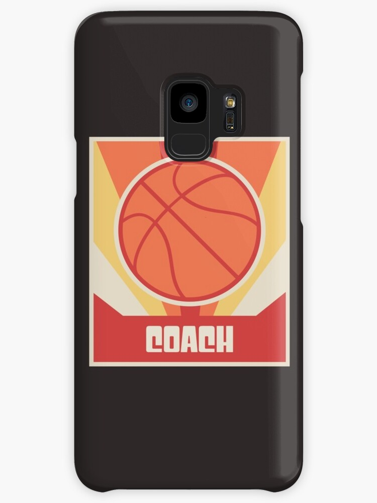 Vintage Basketball Coach Poster by Nathan Darks