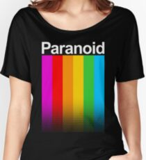 Paranoids Colors Women's Relaxed Fit T-Shirt