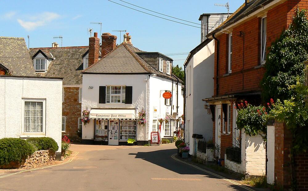 Post Office. Lympstone. Devon. UK. by JPPhotography