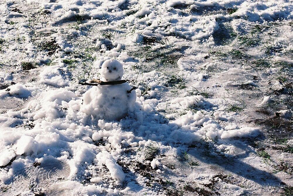 Snowman Brrrrr by Michael Naylor