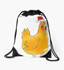 Christmas present Drawstring Bag