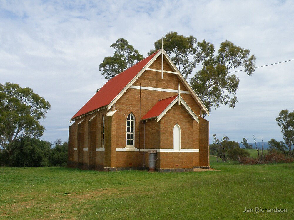 The Uniting Church, Forest Reefs, NSW by Jan Richardson