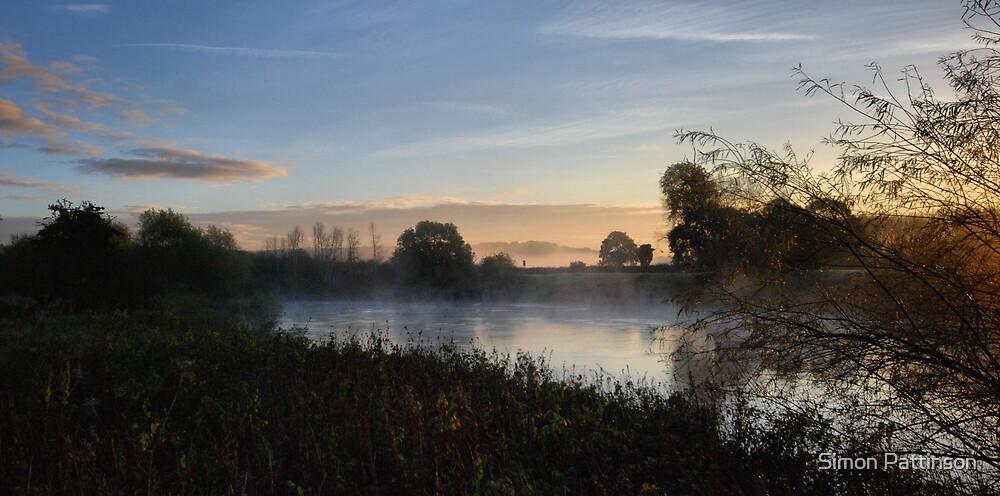 River Mist by Simon Pattinson
