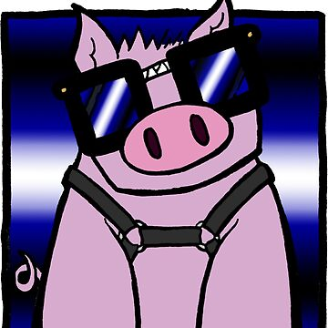 Nerd Kink - Leather Pig by SquareBearsComc
