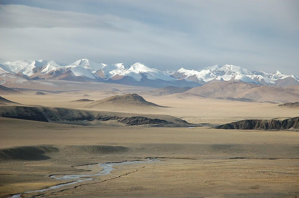 Trespassing in Tibet by Peter Gostelow