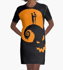 The Nightmare Before Christmas   Graphic T-Shirt Dress