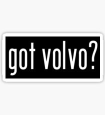 Got Volvo? Black Sticker