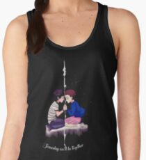 mike and eleven stranger things Women's Tank Top