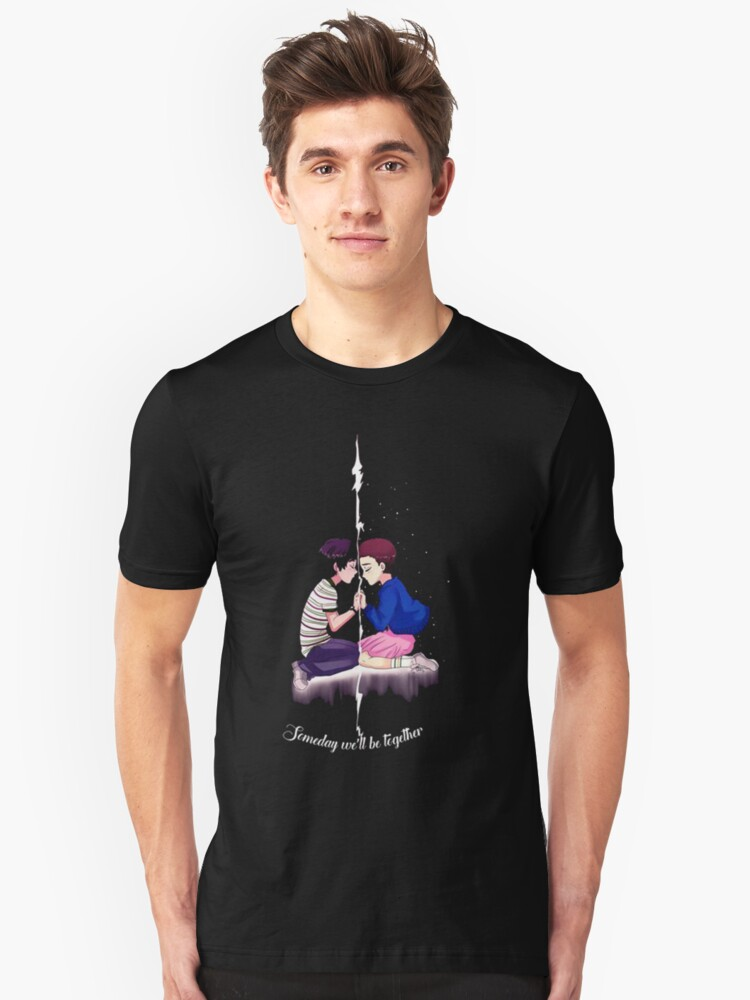 mike and eleven stranger things Unisex T-Shirt Front