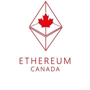ETHEREUM CANADA - crypto tshirt eth by dahool23