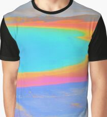 Pastel Oil Slick Graphic T-Shirt