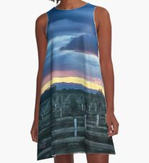 ORDER AT END OF DAY A-Line Dress