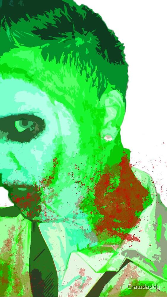 zombie face by Crawdaddy