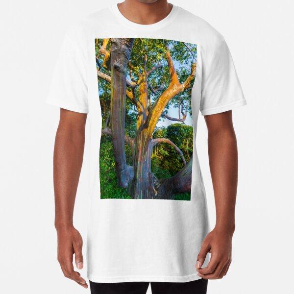 Maui Rainbow Eucalyptus tree Long T-Shirt
