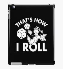 So rolle ich Monopoly iPad-Hülle & Klebefolie