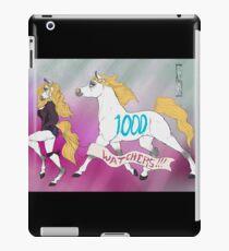 1000 Watchers!!! iPad Case/Skin