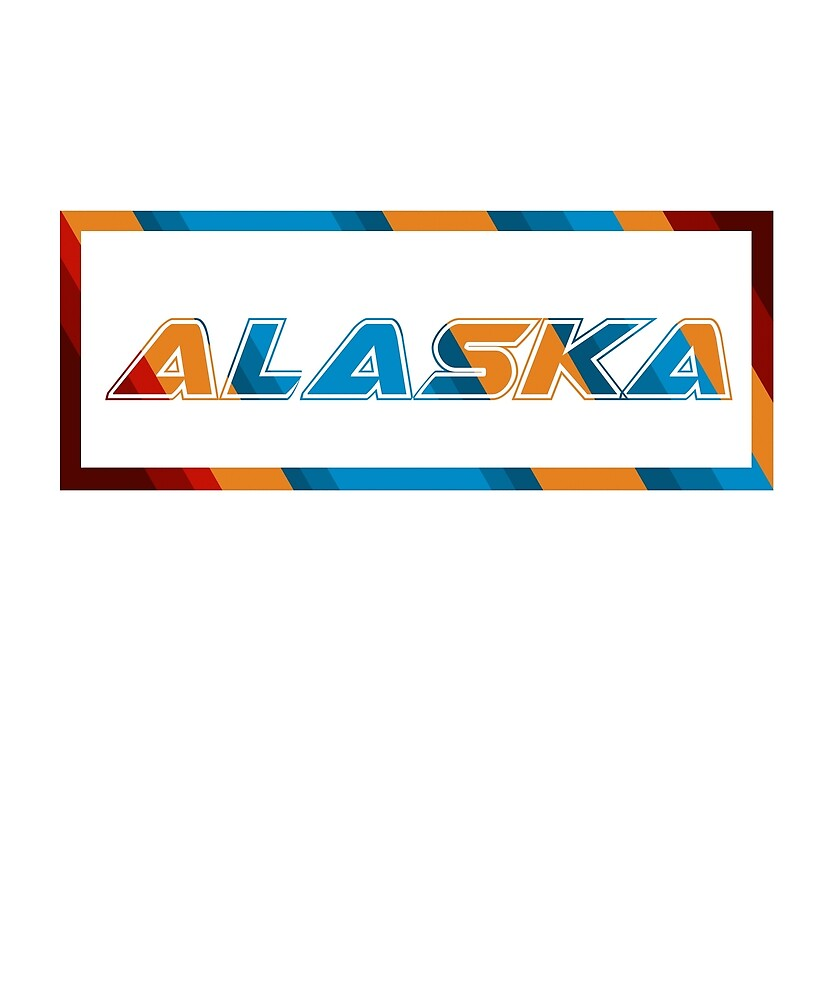 Alaska T-Shirt for Men and Women by AllStarMerch