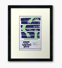 MONDO Night of the Dead Framed Print