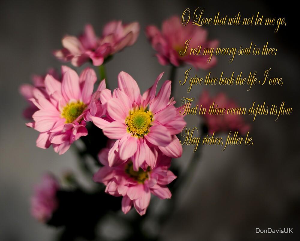 O Love that wilt not let me go by DonDavisUK