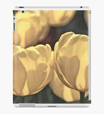 Yellow Tulips of Keukenhof - Artists Sketch iPad Case/Skin