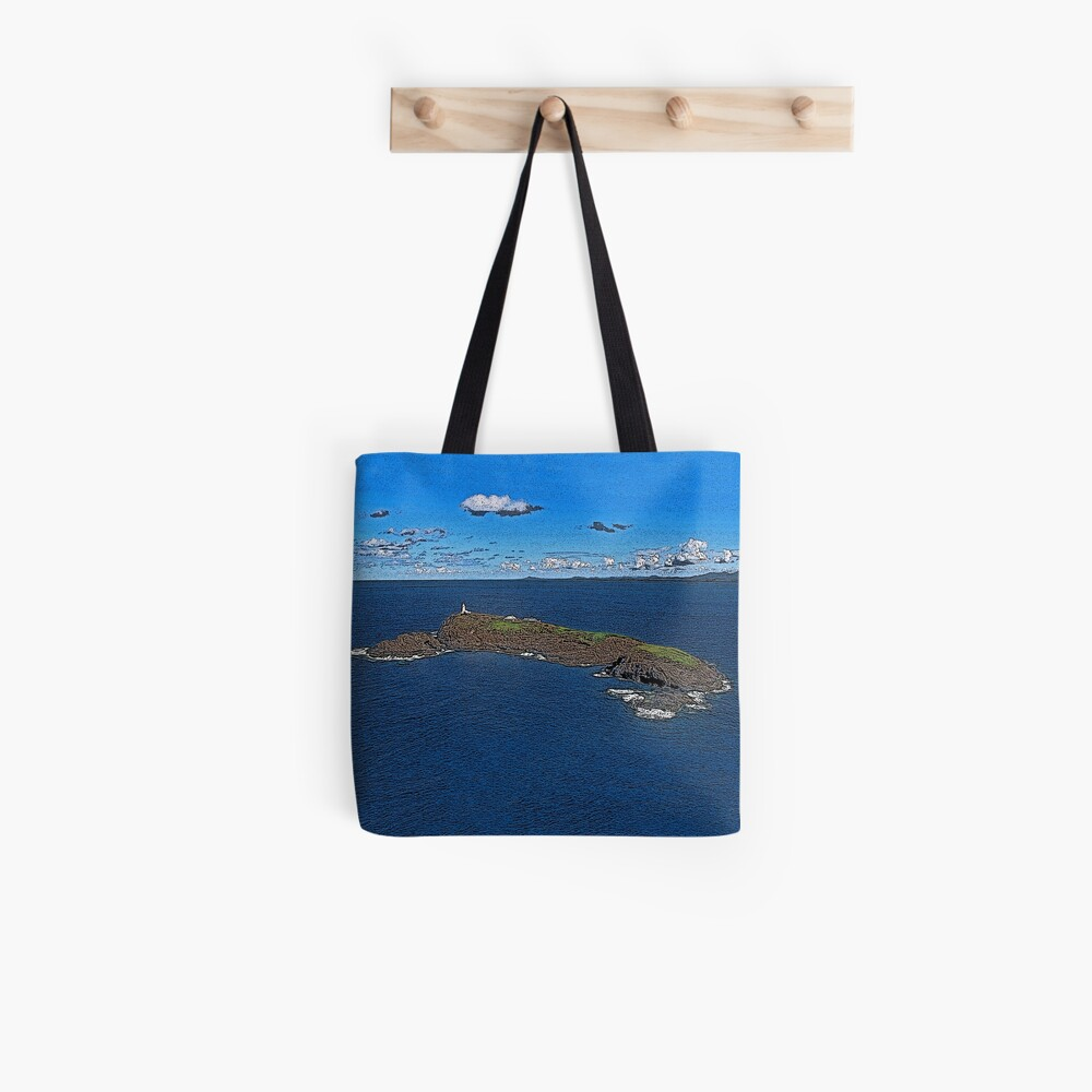 South Solitary Island Lighthouse 2 Tote Bag