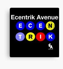Ecentrik Avenue Canvas Print