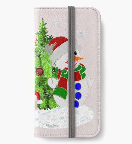 Lets build a Snowman ( 199 Views) iPhone Wallet