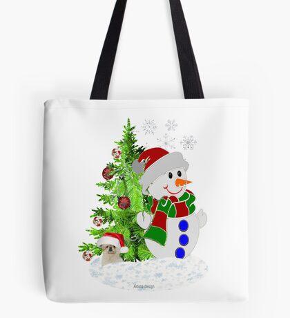 Lets build a Snowman ( 199 Views) Tote Bag
