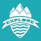Explorer's Crest by Dylan Morang