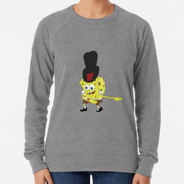 Spongebob - Cowboy Dance Meme Lightweight Sweatshirt
