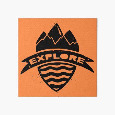 Explore Art Board Print