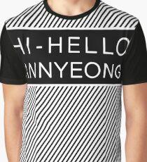 Shownu hi hello annyeong Graphic T-Shirt