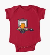 Circuit Board Blue Kids Clothes