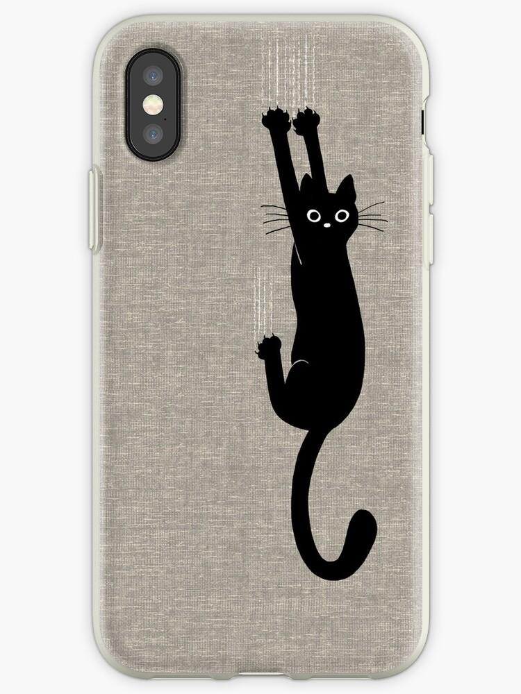 «Gato negro aguantando» de Jenn Inashvili