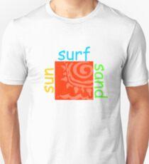 Du surft nicht! Slim Fit T-Shirt