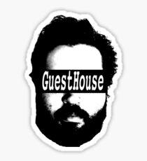GuestHouse Face Logo  Sticker