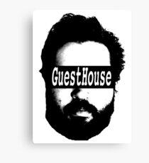 GuestHouse Face Logo  Canvas Print